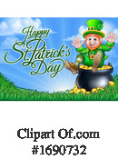 St Paddys Day Clipart #1690732 by AtStockIllustration