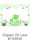 Royalty-Free (RF) St Patricks Day Clipart Illustration #103540