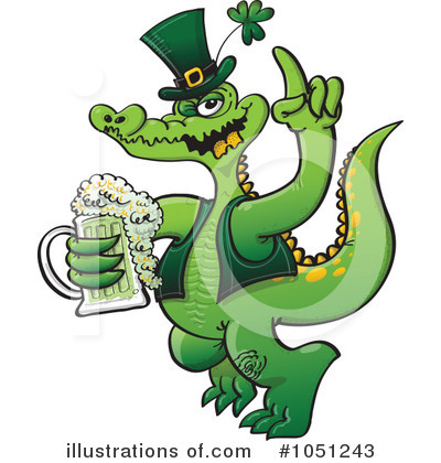 St Patricks Day Clipart #1051243 by Zooco
