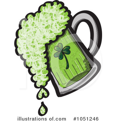 St Patricks Day Clipart #1051246 by Zooco