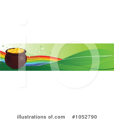 Pot Of Gold Clipart #1052790 by Pushkin