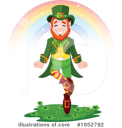 Leprechaun Clipart #1052792 by Pushkin