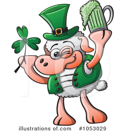 St Patricks Day Clipart #1053029 by Zooco