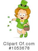 Royalty-Free (RF) St Patricks Day Clipart Illustration #1053678