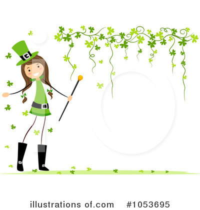 Royalty-Free (RF) St Patricks Day Clipart Illustration by BNP Design Studio - Stock Sample #1053695