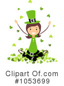 Royalty-Free (RF) St Patricks Day Clipart Illustration #1053699