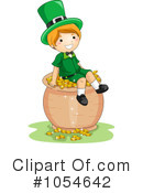 Royalty-Free (RF) St Patricks Day Clipart Illustration #1054642