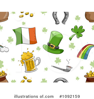 St Patricks Day Clipart #1092159 by BNP Design Studio