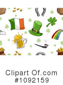 Royalty-Free (RF) St Patricks Day Clipart Illustration #1092159