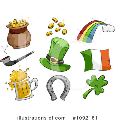 St Patricks Day Clipart #1092161 by BNP Design Studio