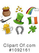 Royalty-Free (RF) St Patricks Day Clipart Illustration #1092161
