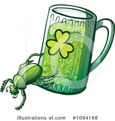 St Patricks Day Clipart #1094168 by Zooco