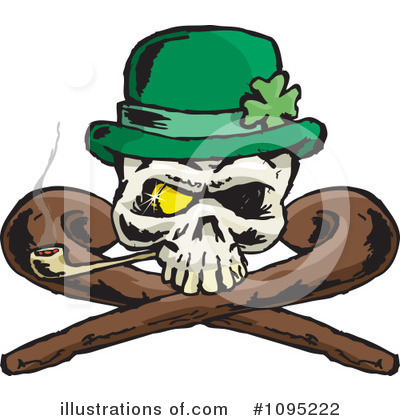 St Patricks Day Clipart #1095222 by Dennis Holmes Designs