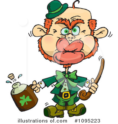 Leprechaun Clipart #1095223 by Dennis Holmes Designs