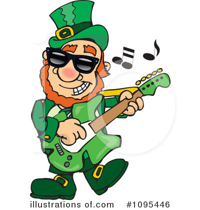 Leprechaun Clipart #1095446 by Dennis Holmes Designs