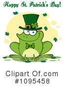 Royalty-Free (RF) St Patricks Day Clipart Illustration #1095458