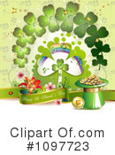 Royalty-Free (RF) St Patricks Day Clipart Illustration #1097723
