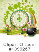 Royalty-Free (RF) St Patricks Day Clipart Illustration #1099267