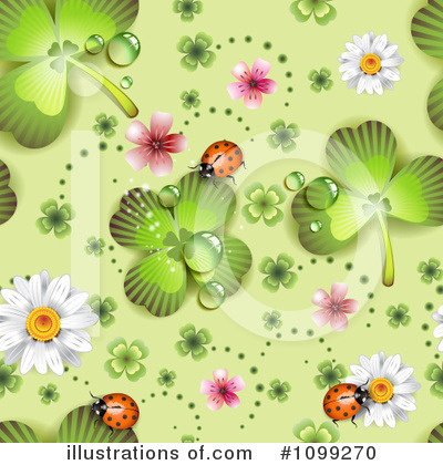 Clovers Clipart #1099270 by merlinul