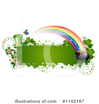 Royalty-Free (RF) St Patricks Day Clipart Illustration by merlinul - Stock Sample #1102167