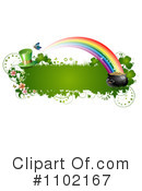 Royalty-Free (RF) St Patricks Day Clipart Illustration #1102167
