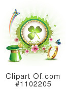 St Patricks Day Clipart #1102205 by merlinul