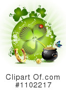 St Patricks Day Clipart #1102217 by merlinul