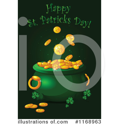 Pot Of Gold Clipart #1168963 by Pushkin