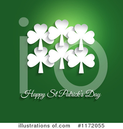 St Patricks Day Clipart #1172055 by KJ Pargeter