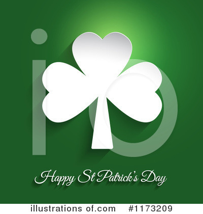 Royalty-Free (RF) St Patricks Day Clipart Illustration by KJ Pargeter - Stock Sample #1173209
