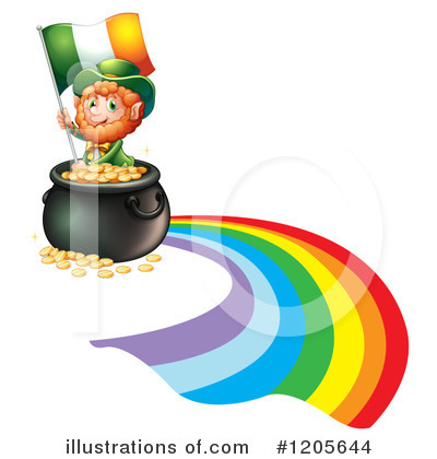 Pot Of Gold Clipart #1205644 by Graphics RF