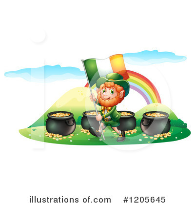 Pot Of Gold Clipart #1205645 by Graphics RF