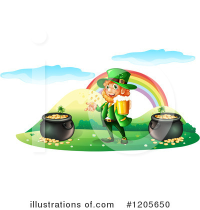 Pot Of Gold Clipart #1205650 by Graphics RF