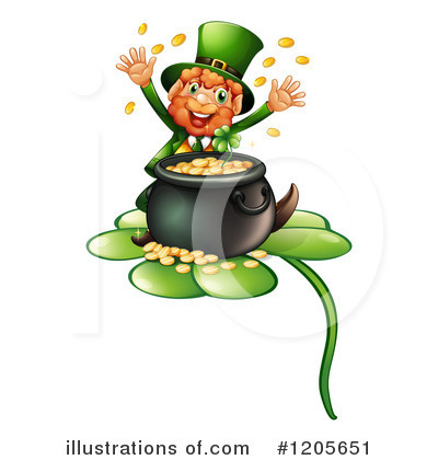 Pot Of Gold Clipart #1205651 by Graphics RF