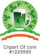 St Patricks Day Clipart #1229565 by Pushkin