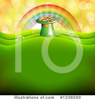 Pot Of Gold Clipart #1236500 by merlinul