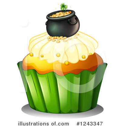 Pot Of Gold Clipart #1243347 by Graphics RF