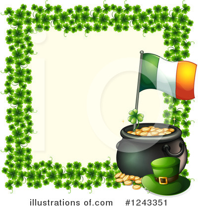 Pot Of Gold Clipart #1243351 by Graphics RF