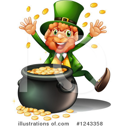 St Patricks Day Clipart #1243358 by Graphics RF