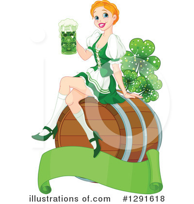 St Patricks Day Clipart #1291618 by Pushkin