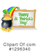 Royalty-Free (RF) St Patricks Day Clipart Illustration #1296340