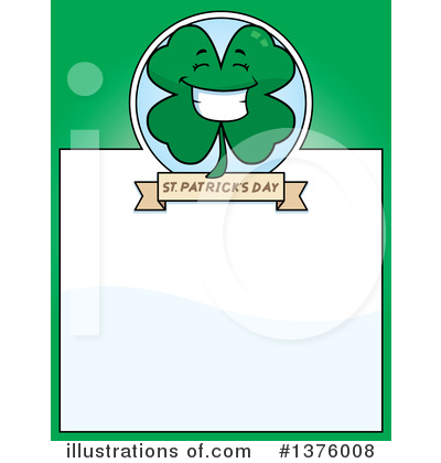 Clover Clipart #1376008 by Cory Thoman