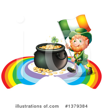 Pot Of Gold Clipart #1379384 by Graphics RF