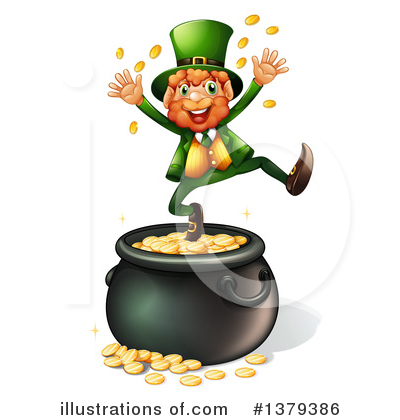 Pot Of Gold Clipart #1379386 by Graphics RF
