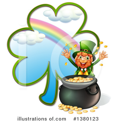 Pot Of Gold Clipart #1380123 by Graphics RF