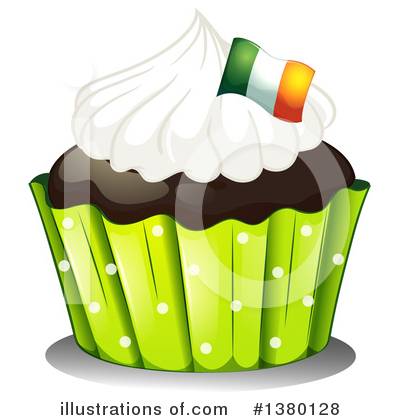 Cupcake Clipart #1380128 by Graphics RF