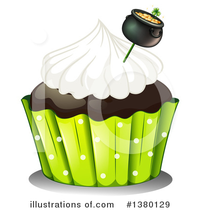 Cupcake Clipart #1380129 by Graphics RF