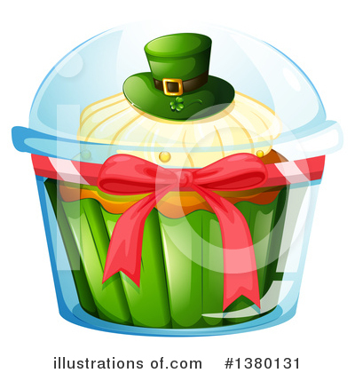 Cupcake Clipart #1380131 by Graphics RF
