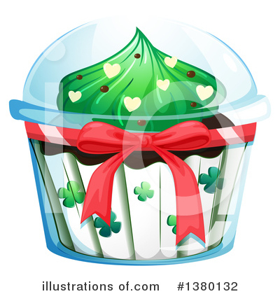Cupcake Clipart #1380132 by Graphics RF