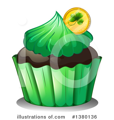 Cupcake Clipart #1380136 by Graphics RF